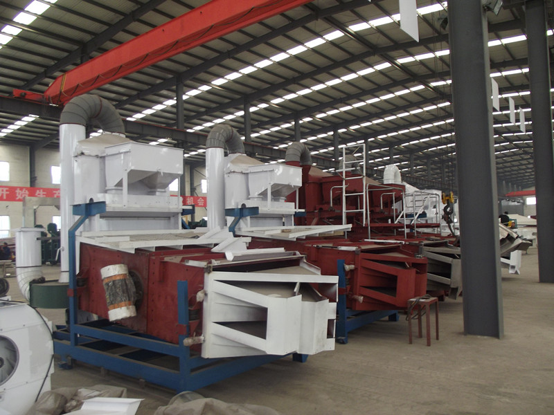 Seed cleaner machinery