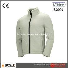 White Warm Comfort Outdoor Polar Fleece Jacket