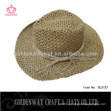 Color de los sombreros de vaquero al por mayor naturales