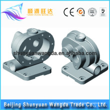2016 made in Beijing lost wax investment casting brass casting parts pump body