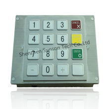Stainless Steel Small Size Payment Kiosk Encryption Keypad