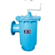 Traitement vertical de l'eau du filtre à brosse avec entraînement manuel
