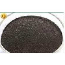 Черный гранулированный Гумат аммония для удобрения
