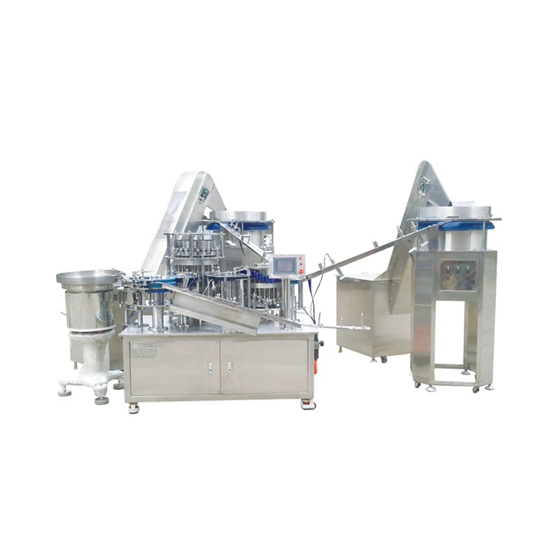 2 parts syringe assembly Machine