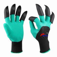 Graben und Pflanzen Wasserdichte Arbeitssicherheit Hand Krallen Garten Genie Handschuhe
