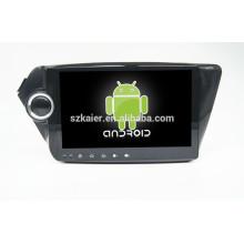 HOT! Voiture dvd avec lien miroir / DVR / TPMS / OBD2 pour 10.1 pouces écran tactile complet 4.4 Android système K2