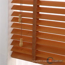 Wood venetian roller blind for kitchen bathroom