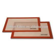 Fácil de usar resistente ao calor até 250 Silicone Baking Mat for Forno Torradeira