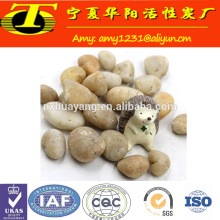 Wholesale cheap price white gravel for driveway and aquarium