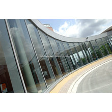 Vantage Commercial Frame Low E Glass Aluminium Curtain Wall Systems