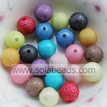 Xmas 8mm Pearl Round Gemstone Imitation Swarovski Beads