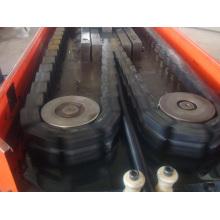 PE PP PVC Single Wall Corrugated Pipe Extrusion Line Machine
