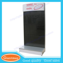 multi-purpose pegboard floor display stand for mobile accessories