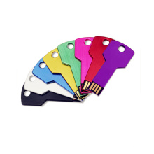 Key Shape USB Flash Drive Different Color Free Customized Logo