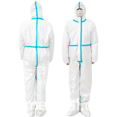 Hot selling plastic protective suit