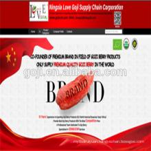 2017 certificate organic dried goji berry /wolfberry Chinese red goji berry on sale