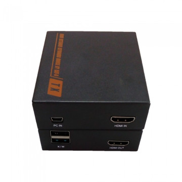 Extensor HDMI Kvm sobre CAT5 CAT6 hasta 60 m