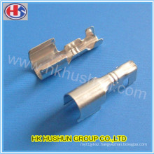Custom Stamping Male and Female Brass Electrical Terminal (HS-DZ-0044)