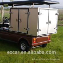 1-2 Sitze elektrischer Brennstoffart elektrische Golfwagen mit kundengebundener Nahrungsmittelladung