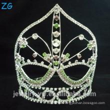 Colored Rhinestone Crystal Crown Tiara Exquisite Crystal Tiaras