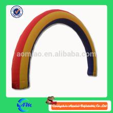 Archway inflável do arco do arco-íris barato à venda arco inflável do casamento