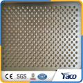 galvanisiertes perforiertes Metallgitter, perforiertes Aluminiummetallgitter-Lautsprechergitter