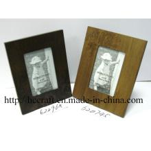 Деревянные Лазерная фото Рамка для домашнего украшения
