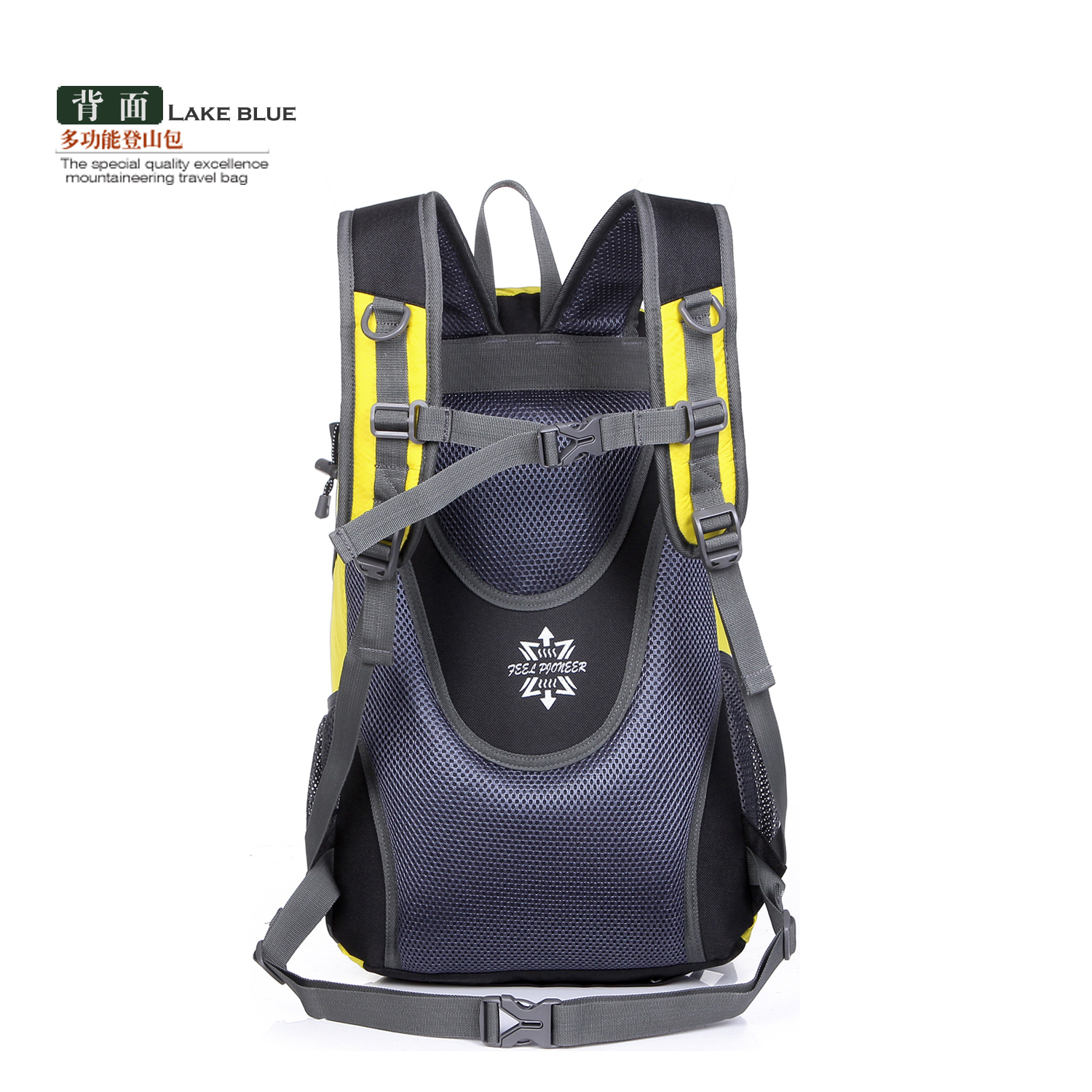 Lightweight multi-function durable hiking travel bag2