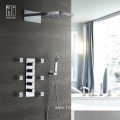 Modern Bathroom Faucets Brass Shower Faucet Set