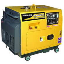 5kw 5kVA Home Use Silent Diesel Generator (BDE5800T) with CE