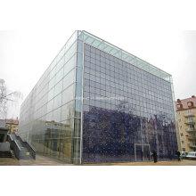 Thermal Break Aluminium Profile Tempered Glass Facade