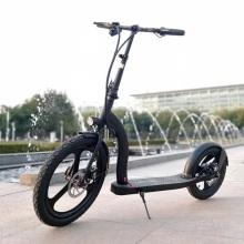 Scooter elétrico de liga de alumínio de 20 polegadas com roda dianteira