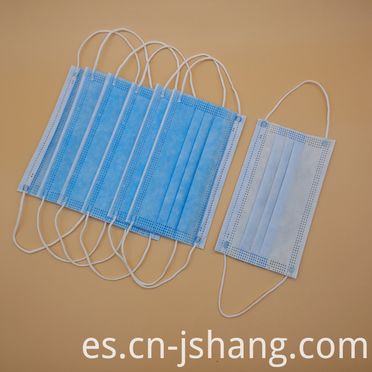 Face Mask with Elastic Ear Loop