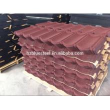 Цветной строительный материал Алюминиевый цинковый камень с покрытием Металлическая сталь Кровельный лист для продажи