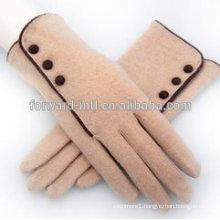 Warm design winter cashmere gloves suppliers