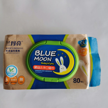 High Quality Alcohol Free Flushable Baby Wipes