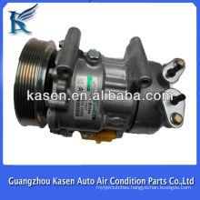 Sanden SD6V12 peugeot 307 peugeot 206 air condition compressor OE# SD1439 SD1438 SD1430 6453FR 6453LF 9646273880