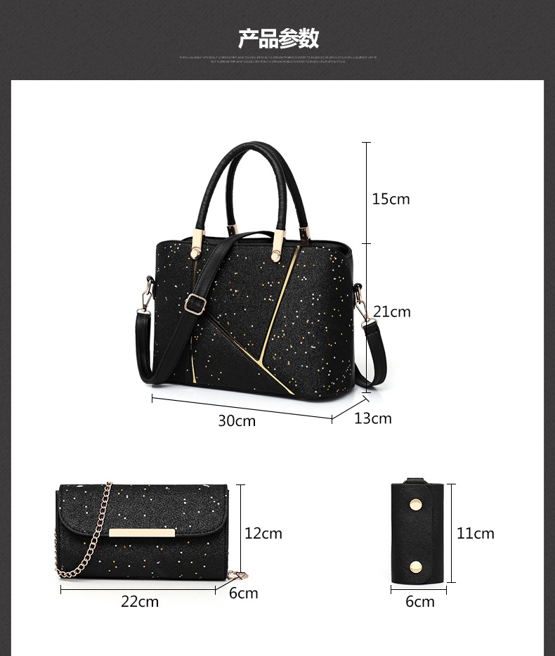 2018 Stylish Leather Lady Handbag