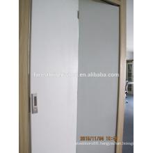 White painted bifold doors