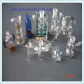 Adaptador de zócalo del cono de cristal borosilicato claro para cachimba