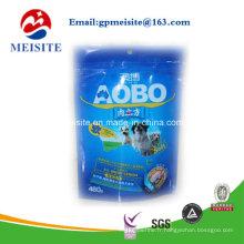 Sac de conditionnement alimentaire pour animaux de compagnie de haute qualité biodégradable