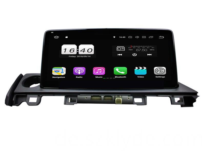 Android 8.1 Multimedia Player for Mazda 6 2017 (2)