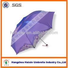 Projeto extravagante artesanato bordado chinês guarda-chuva para diferente promoção