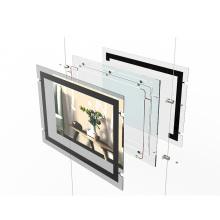 CF1A a0 a1 a2 a3 a4 Single Side CE Frameless LED acrylic/crystal light box