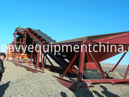 sand sieving equipment
