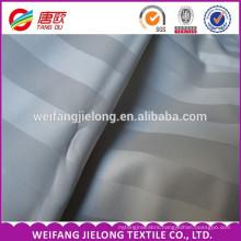 Hotel bedding sets jacquard satin stripe 100% cotton fabric