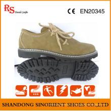 Sapatos de segurança de estilo casual com couro de boa qualidade RS737