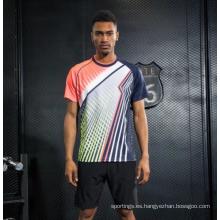Camisa uniforme de alta calidad del jersey del bádminton de la juventud de la aduana