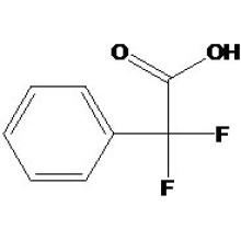 Alfa, ácido alfa-difluorofenilacético Nº CAS: 360-03-2