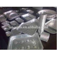 Recipiente de papel aluminio para alimentos